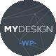 MYDesign - Onepage Multipurpose Flat WP Theme