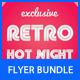 Retro Party Flyer Bundle 2 - GraphicRiver Item for Sale
