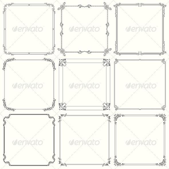 GraphicRiver Decorative Frames 6071402