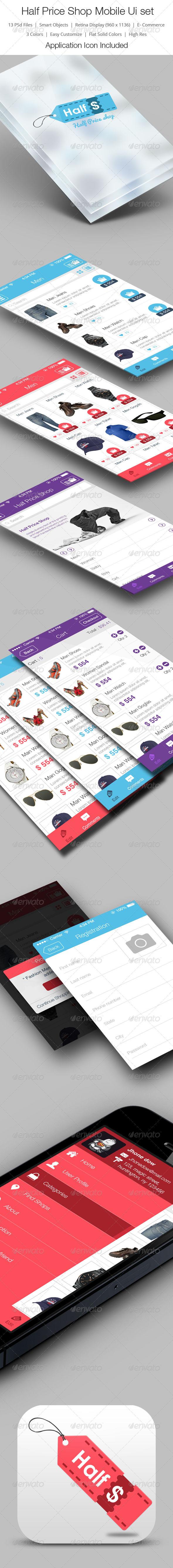 GraphicRiver Half Price Shop 6071469