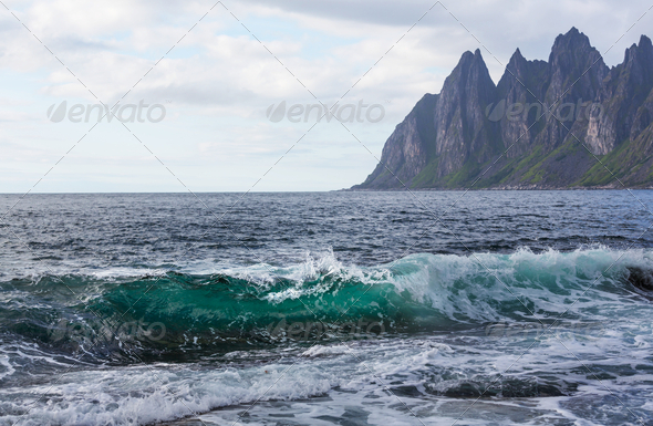 Senja island - Stock Photo - Images