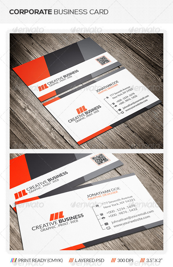 GraphicRiver Corporate Business Card 6046035