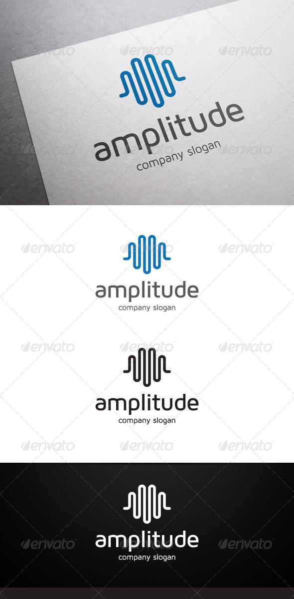 GraphicRiver Amplitude Logo 6072135