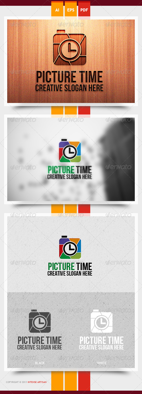 Picture Time Logo Template - Objects Logo Templates