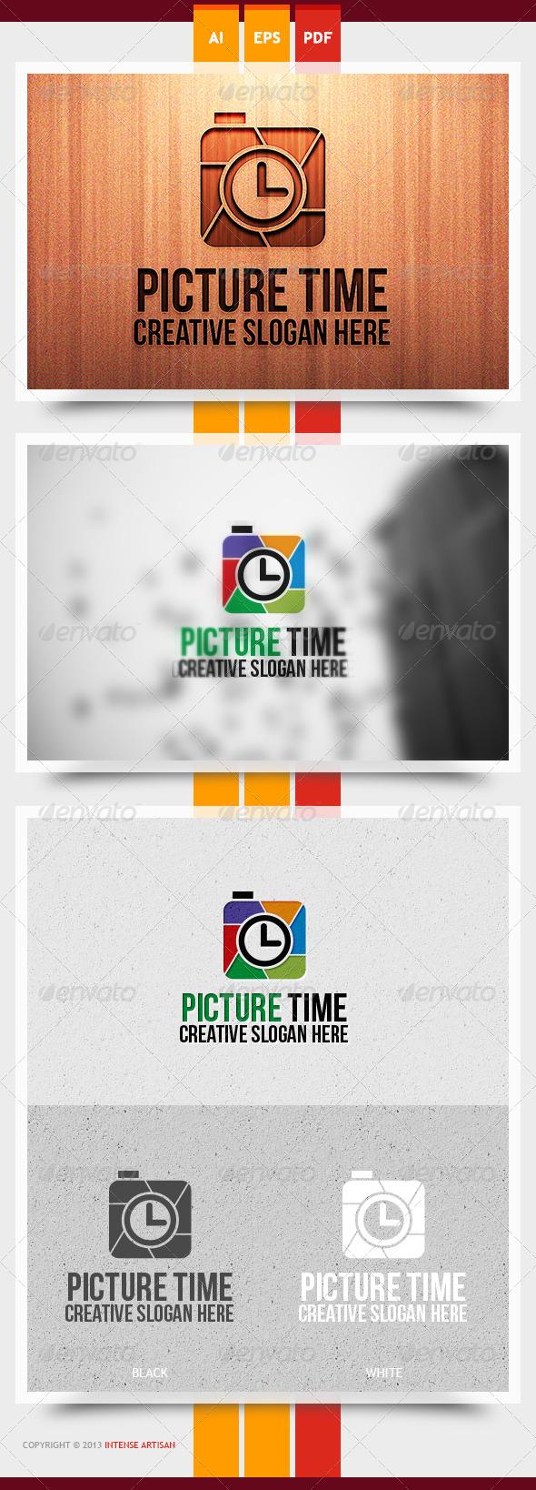 GraphicRiver Picture Time Logo Template 6072566