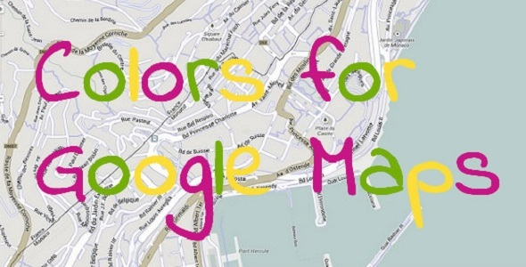 CodeCanyon Colors for Google Maps 6057236