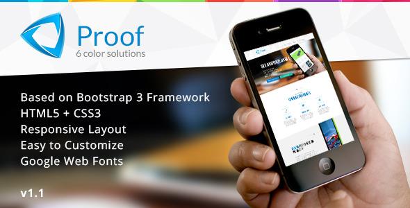 Proof - App Responsive Landing Page
