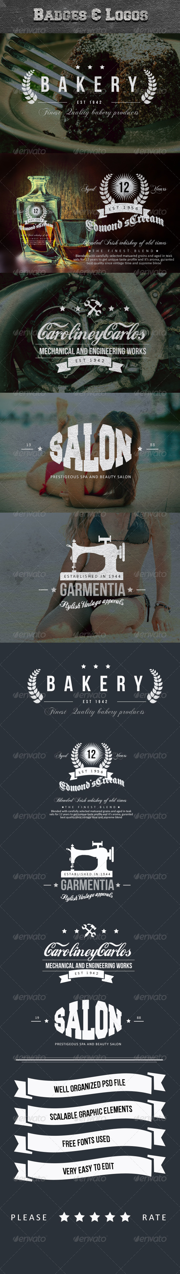 GraphicRiver Vintage Elegance Insignia and Label Collection 3 6073948
