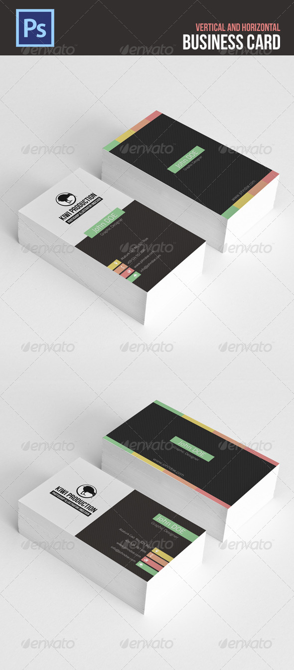 GraphicRiver Business Card 4815340