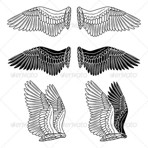 GraphicRiver Dove Wings 6074528