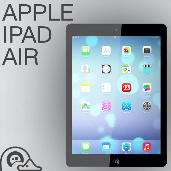 3DOcean Apple iPad Air 6074733
