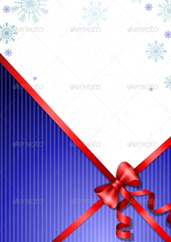 GraphicRiver Elegant Christmas Background 6074912