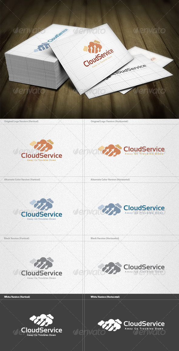 GraphicRiver Cloud Service Logo 6075457
