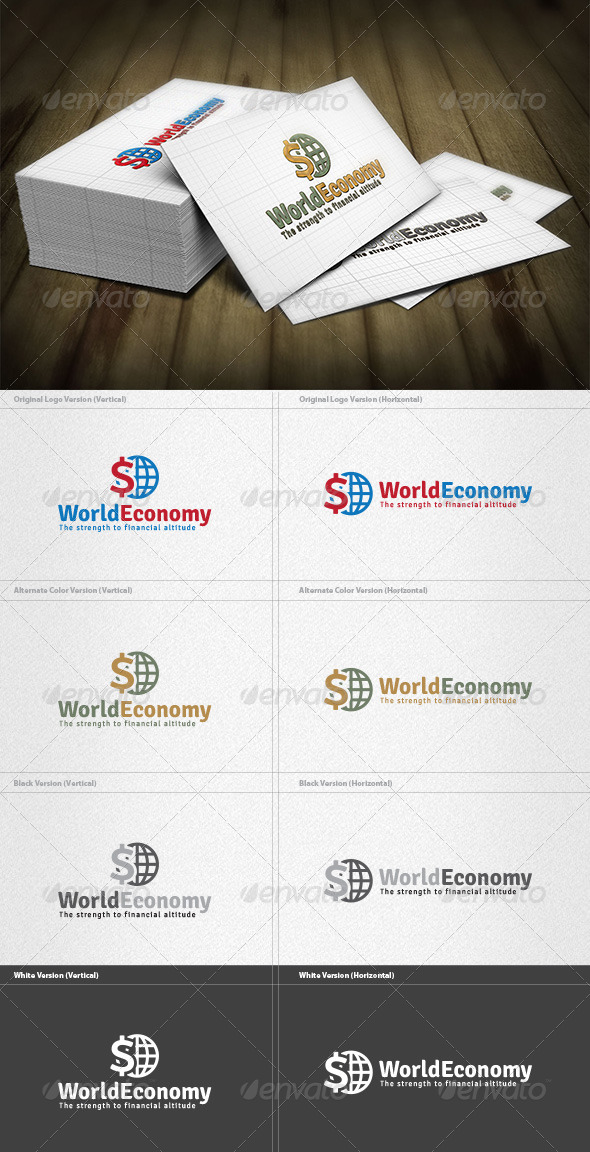 GraphicRiver World Economy Logo 6075489