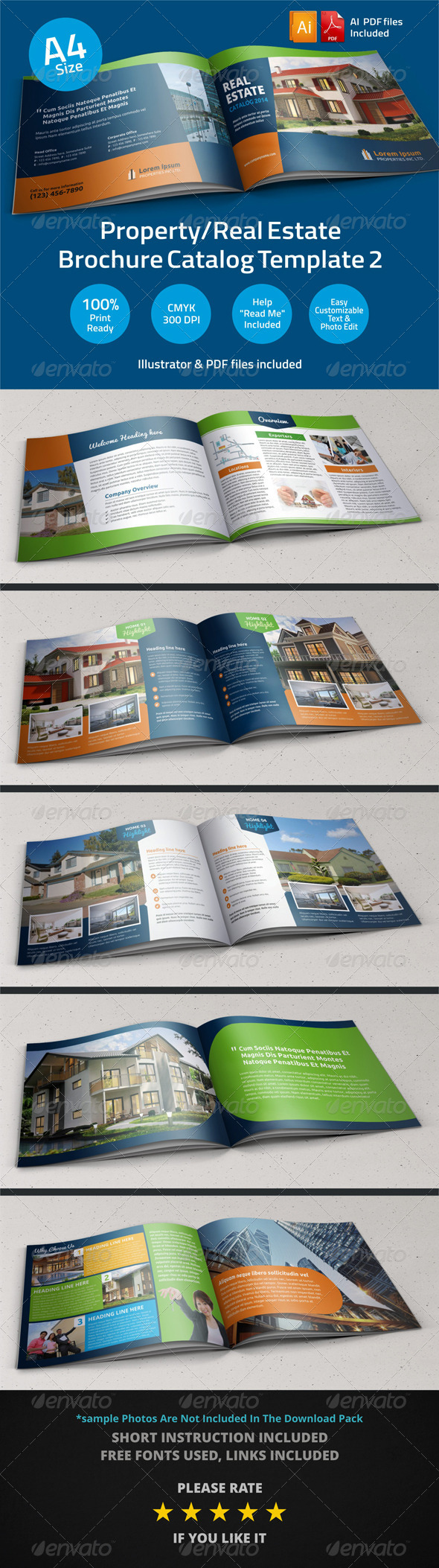 GraphicRiver Property Sale Real Estate Brochure Catalog v2 6075588