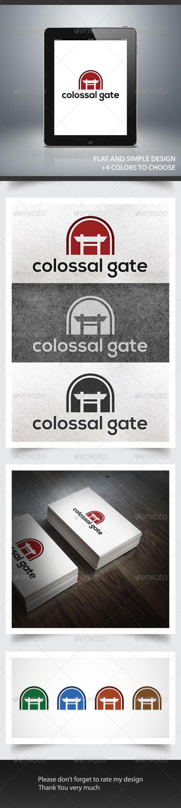 GraphicRiver Colossal Gate 6075851