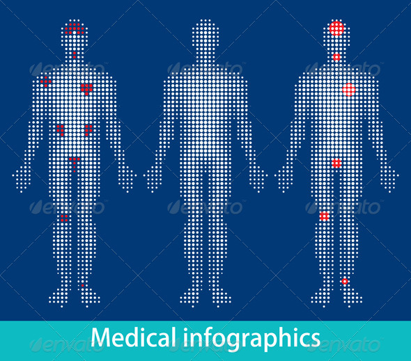GraphicRiver Medical Info-Graphics 633933