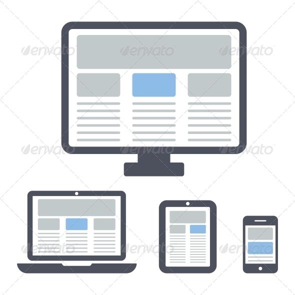 GraphicRiver Responsive Web Design 6076439