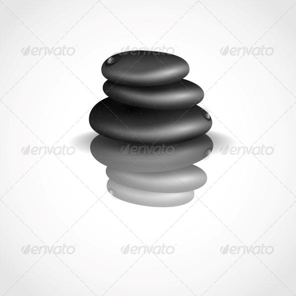 GraphicRiver Spa Stones 6076632