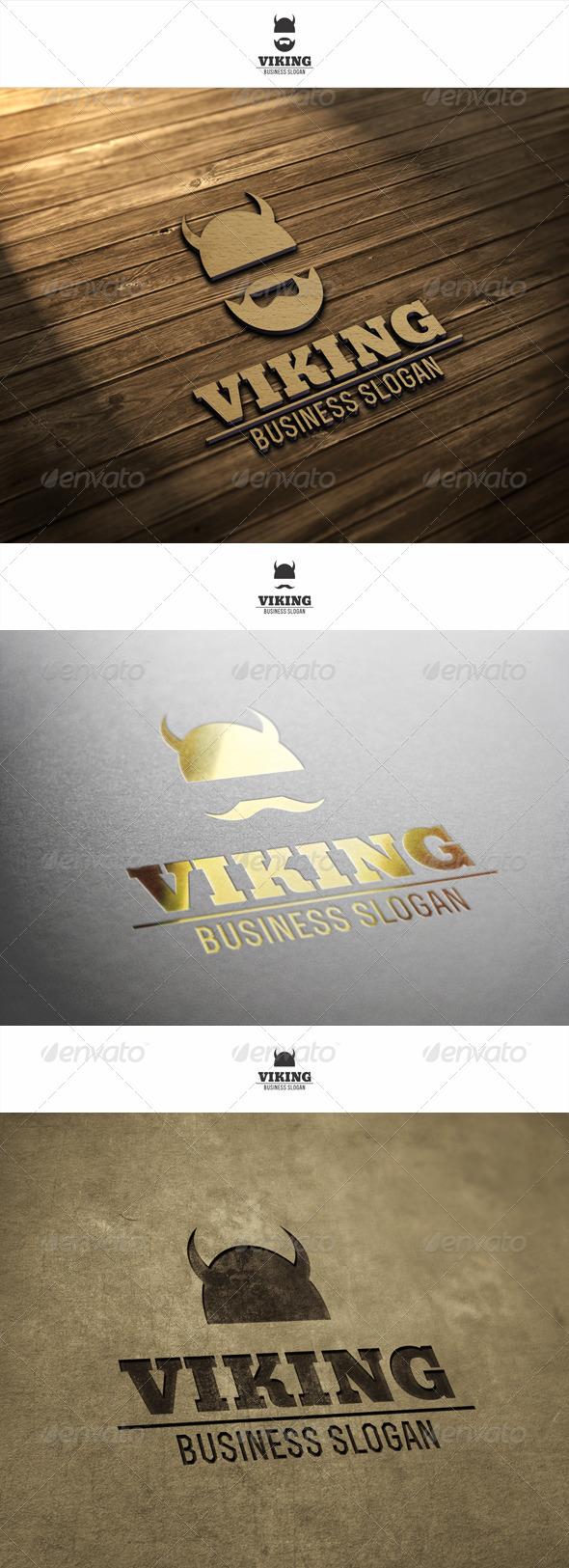 GraphicRiver Viking Logo 6076793