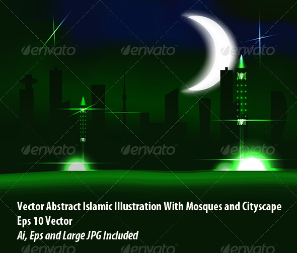 GraphicRiver Mosque 6077324