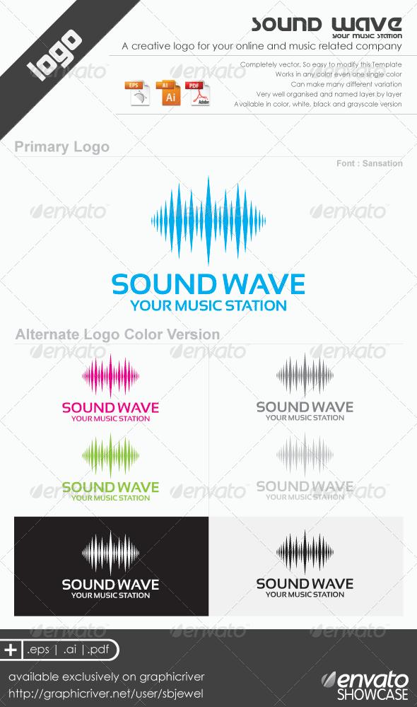 Sound Wave Logo Templates