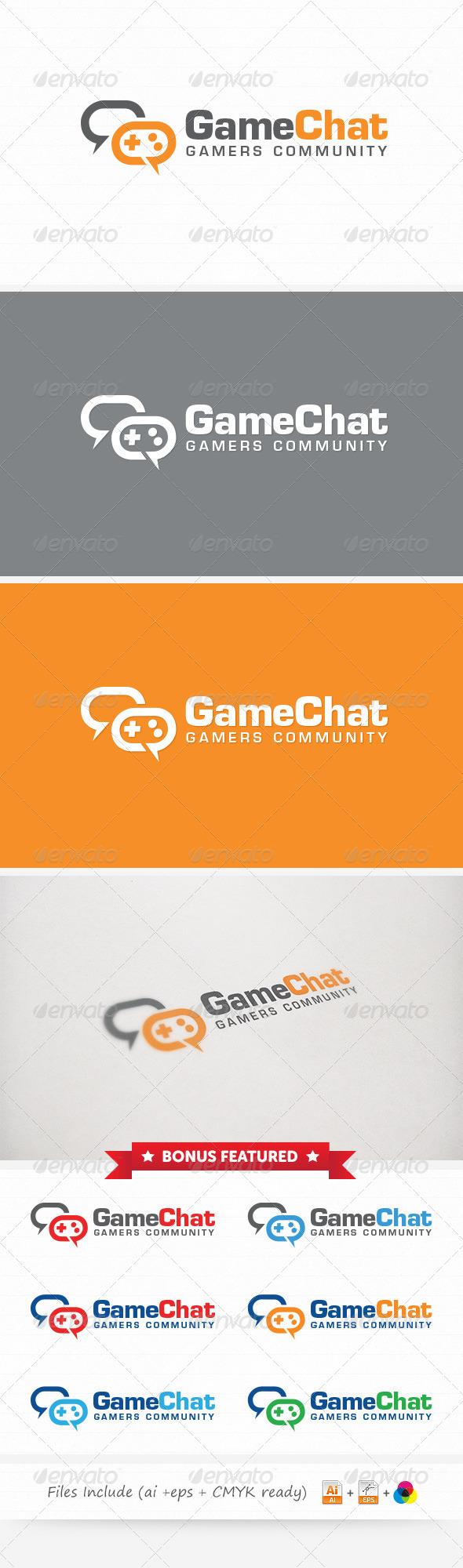 GraphicRiver Game Community Logo 6077696
