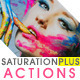 SaturationPLUS Photoshop Actions - GraphicRiver Item for Sale