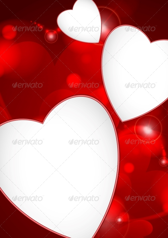 GraphicRiver Valentine s Day Or Wedding Background 6077787
