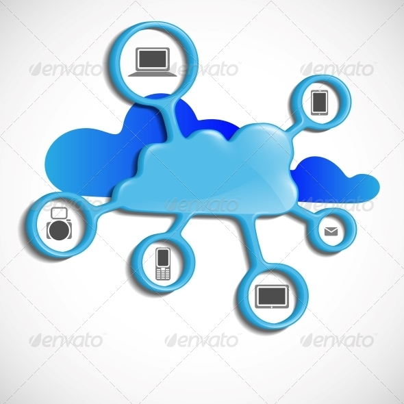 GraphicRiver Cloud Computing Concept 6077849