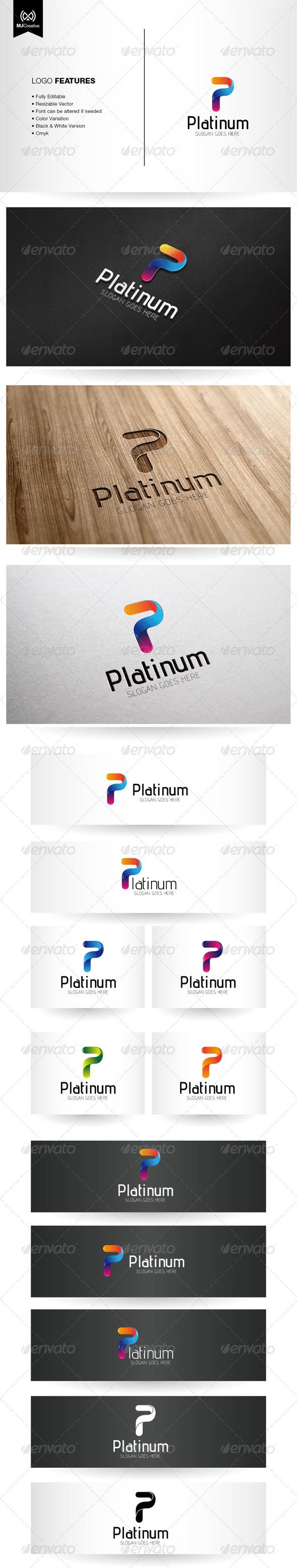 GraphicRiver Letter P Logo 6077859