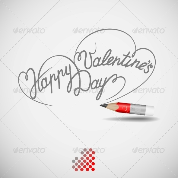 GraphicRiver Happy Valentine s Day Card 6077863