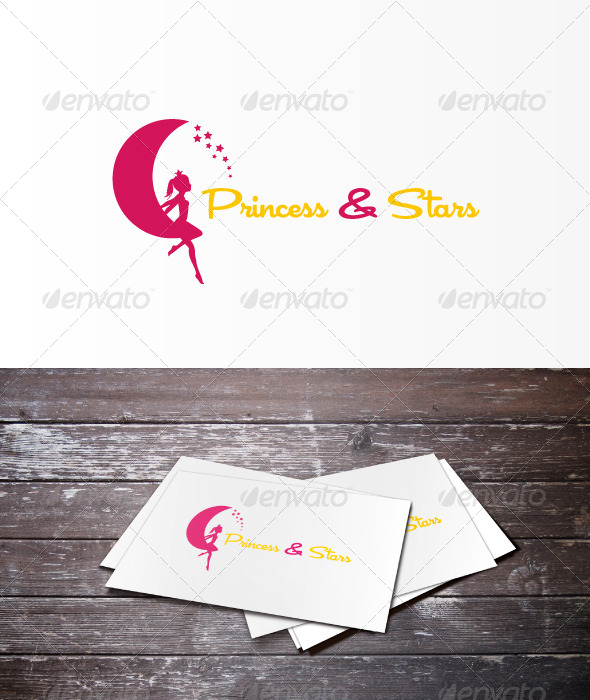 GraphicRiver Princess Star Logo 6074836