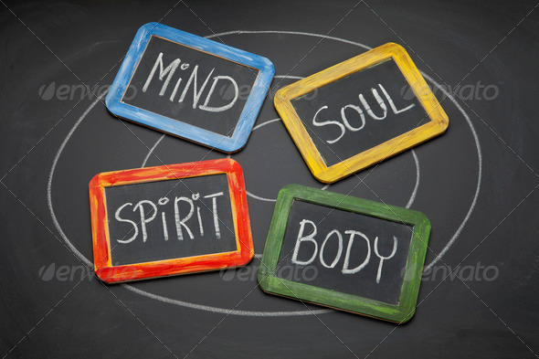 Stock Photo - PhotoDune body mind soul and spirit concept 636655