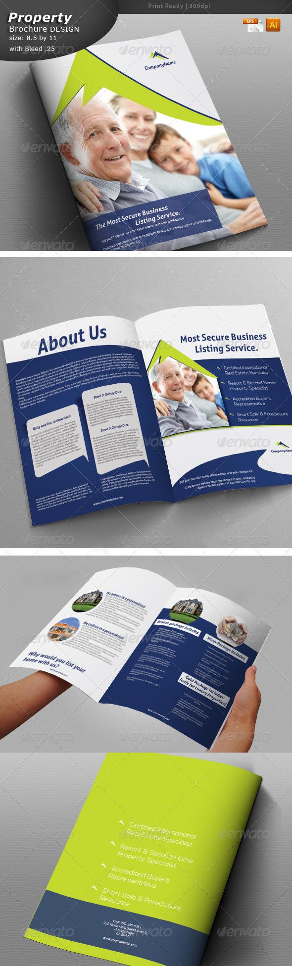 GraphicRiver Multi Purpose Brochure 6055560