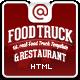 Food truck & restaurant 10 styles – html5 template