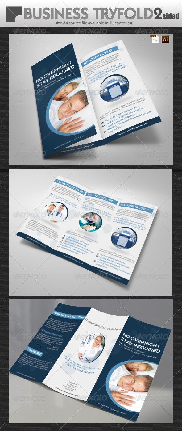GraphicRiver Universal Business Tri-Fold 6078210