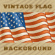 Vintage American Flag Background - GraphicRiver Item for Sale