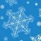 Christmas Seamless Patterns of Snowflakes - GraphicRiver Item for Sale