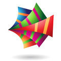 Origami Paper Abstract Icon - PhotoDune Item for Sale