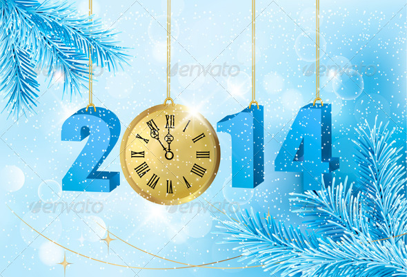 GraphicRiver Happy New Year New Year Design Template 6079630
