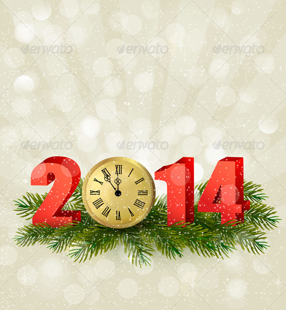 GraphicRiver Happy New Year New Year Design Template 6079729