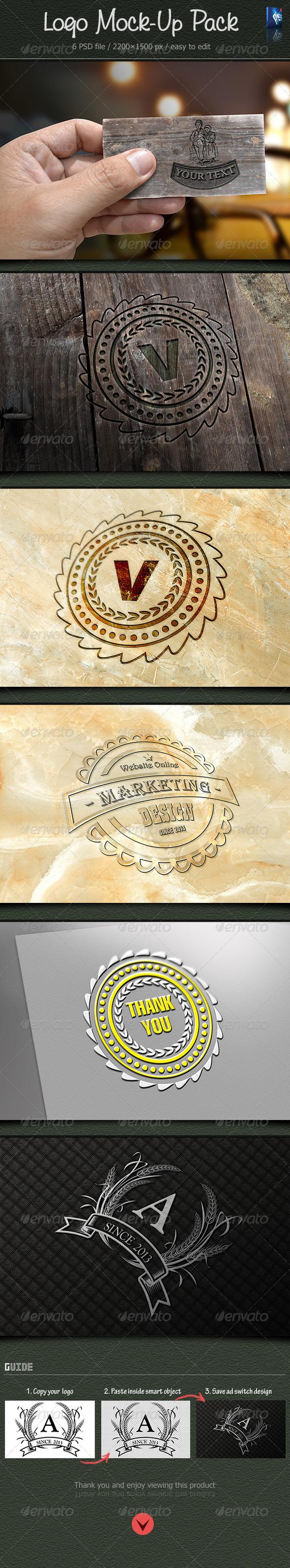 GraphicRiver Logo Mock-Up 6080114