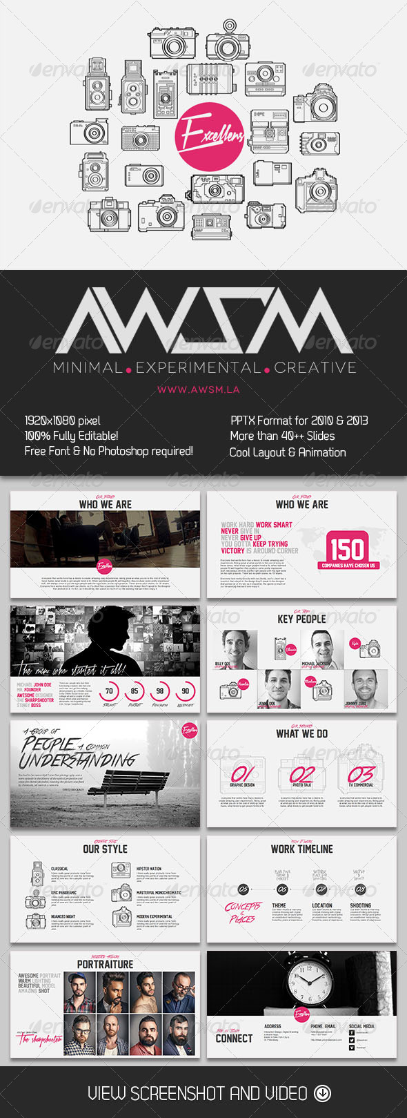 GraphicRiver Excellens Photography PowerPoint Presentation 6080548