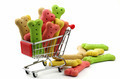 dog biscuits and shopping trolly - PhotoDune Item for Sale