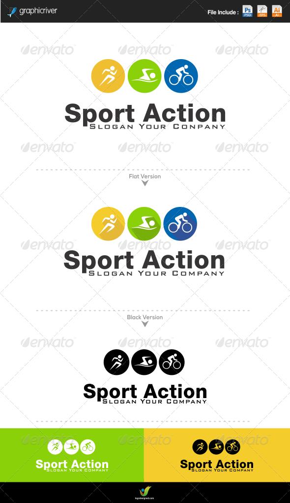GraphicRiver Sport Logo 6070834
