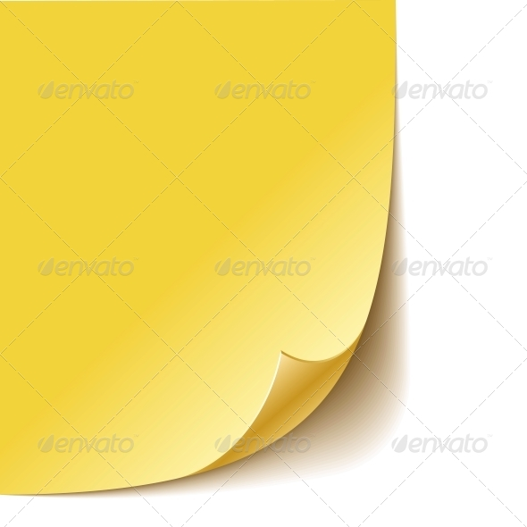 GraphicRiver Empty Paper Corner 6080775