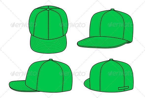 GraphicRiver Green Rap Cap 6072813