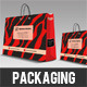 Abstract Shoping Bag Packaging - GraphicRiver Item for Sale