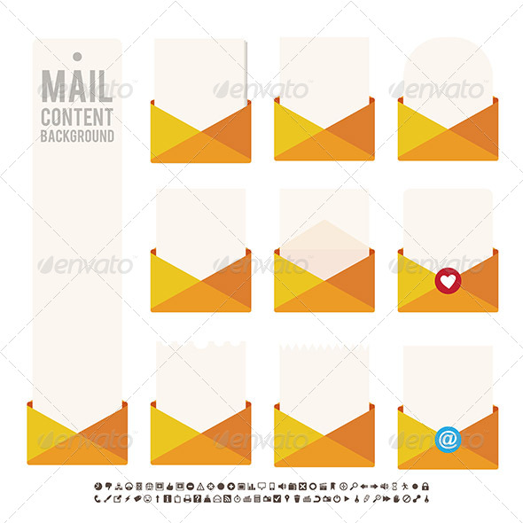 GraphicRiver Mail Content Background 6081160